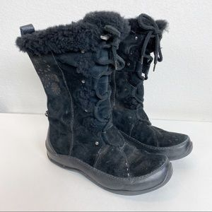 The North Face Black Abby Primaloft Snow Boots 9